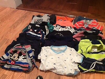 61 pieces 12 months baby Boy Clothes Bundle Of mixed brands all seasons