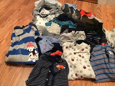 28 pieces of 3 Months baby boy bundle of mixed clothes