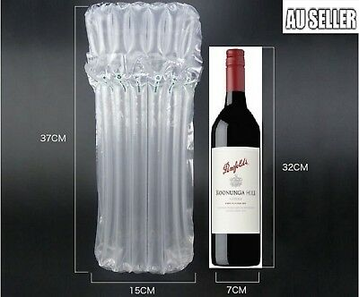 750ml Air Column Inflatable Packaging Bag For Wine Bottles Bubble WineSkin Glass