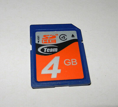 TEAM 4GB SDHC Class 4 Secure Digital SDHC Memory Card -Australia stock fast post