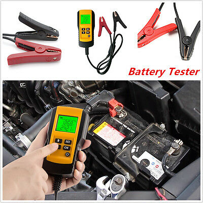 Car Automotive Tester Load Analyzer Digital LCD 12V Battery Life Test Tools New