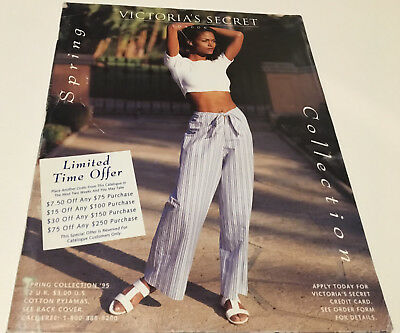 Victoria's Secret - Spring Collection - 1995 Catalog - 105 Pages