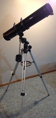 """Bushnell 4.5"""" Reflector Telescope with Equatorial mount"""