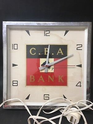 CBA Commercial Bank Clock As Is Not Working