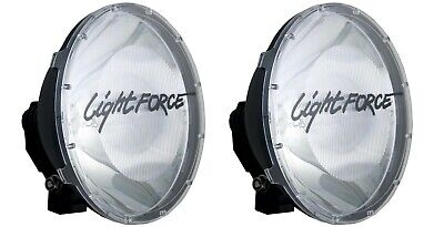 Genuine Lightforce 240 Blitz Clear Driving Spot Light Covers ***brand New***