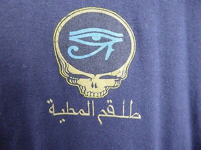 Grateful Dead - Giza Egypt 1978 (new 2006 repro) Eye Of Horus XL