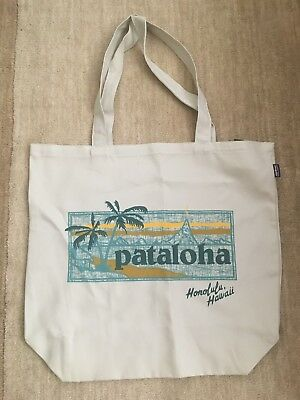 Pataloha Sign Canvas Bag - Honolulu Tote Patagonia