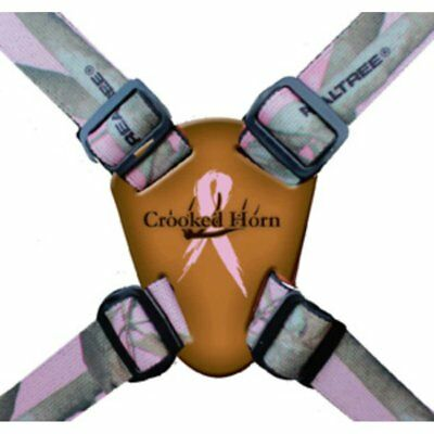 Crooked Horn Women's Quick-Release Binocular Harness System with Realtree Pink