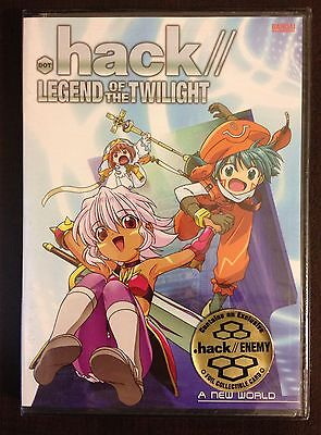 .hack//Legend of the Twilight - Vol. 1: A New World (DVD, 2004) Bandai New