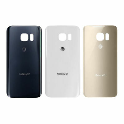 New Battery Cover Rear Back Door Glass Housing for Samsung Galaxy S7 G930 AT&T
