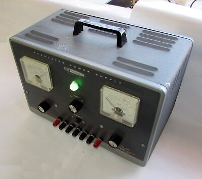 Heathkit high voltage power supply for valve tube amplifier building and design