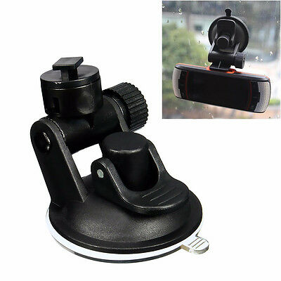 T-Type Car Dash Cam Video Recorder Suction Cup Mount Bracket Holder Stand New