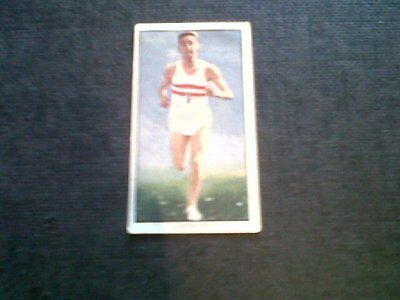 Radio Fun Sports Star Card Gordon Pirie No.2