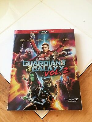 Guardians of the Galaxy Vol. 2 (Blu-ray/DVD) Brand New Sealed