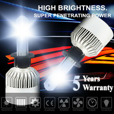 LED Headlight Kit H1 980W White High Power Low Beam 6500K 147000LM Car Bulb