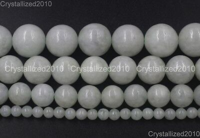 AAA Natural Gemstone Nephrite Round Loose Spacer Beads 4mm 6mm 8mm 10mm 15.5''