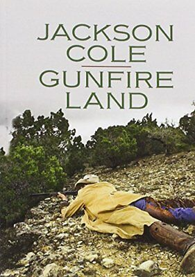 Gunfire Land (Wheeler Publishing Large Print Western) by Cole, Jackson Book The