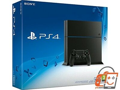 Sony PlayStation 4 500GB [neues Modell 2015 C-Chassis] schwarz - SEHR GUT