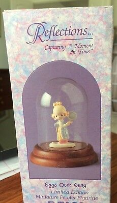694916 Precious Moments Pewter Miniature Eggs Over Easy