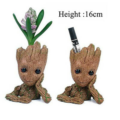 Guardians of The Galaxy Vol. 2 Baby Groot Figure Flowerpot Style Toy Decor Gift