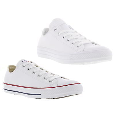 051fddb7f27a Converse All Star Oxford Leather Mens Womens Ladies Trainers Shoes Size 4-12