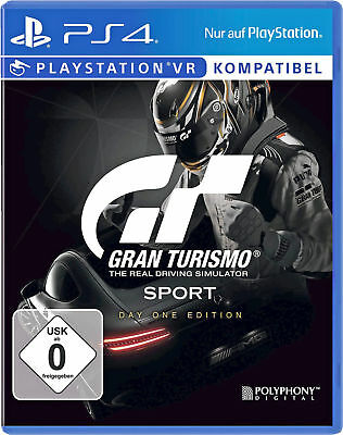 Gran Turismo Sport STANDARD PLUS EDITION PS4 Day One Edition