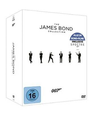 The James Bond 007 Collection Box NEU OVP 24 DVDs Komplettbox