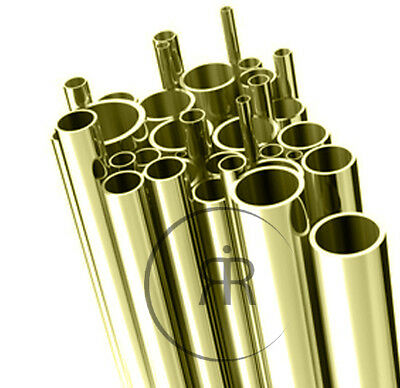 BRASS TUBE ALL SIZES & LENGTHS Tube Brass Pipe CRAFT DIY METAL WORKS
