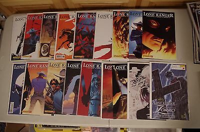 18 THE LONE RANGER #5 - 22 comics from Dynamite Enertainment & Zorro by Matthews