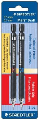 Staedtler Mars Draft Technical Pencils 0.5mm/0.7mm 2 pack - 0471