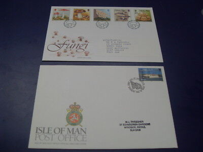 Isle Of Man First Day Covers - 1996 / Fungi 1995