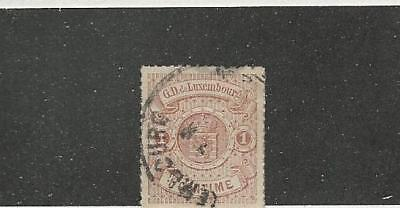 Luxembourg, Postage Stamp, #13 Used, 1865