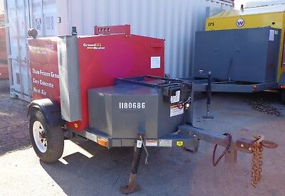 2010 Ground Heaters / Wacker Neuson E1100 Hydronic Ground Heater Cure Concrete