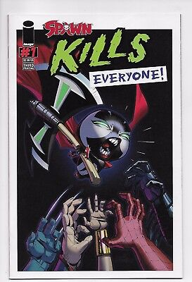 Spawn Kills Everyone #1 - 3rd Print / McFarlane (Image, 2016) - New/Unread (NM)