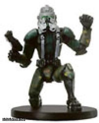 Clone Commander Gree Star Wars Mini 023 Champions of the Force Miniature SWM CMG