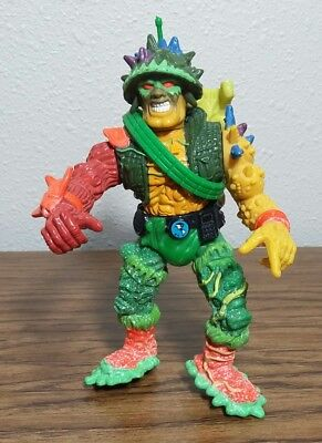 "5"" Toxic Crusaders Major Disaster Action Figure 1991 Troma‏"