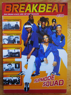 Breakbeat Magazin Compost Mighty Flores Busta Rhymes 4-1998 Hip Hop D n B