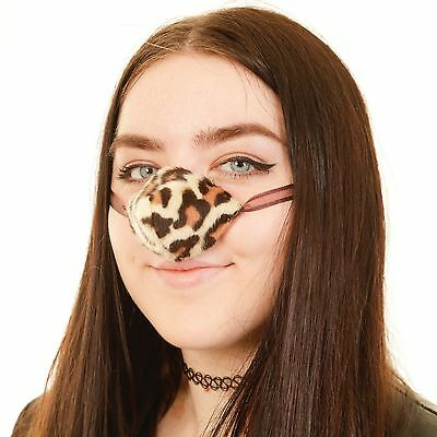 NOSE WARMER. SNOW LEOPARD  From The Nose Warmer Co. Free P&P! Design Registered.