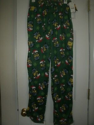 NEW - Despicable Me Minion Super Soft Fleece Pajama Pants Mens Medium