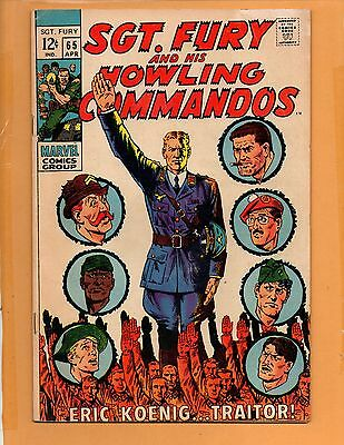 Sgt. Fury And His Howling Commandos # 65  FN+ to FN/VF