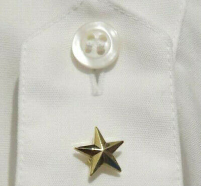 Pin STAR GOLD for General Officer Police uniform decoration costume item 5-STAR