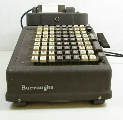 Vintage Burroughs Adding Machine Company Series P Calculator