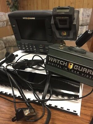 WatchGaurd DV1E Digital In Car Camera Video System