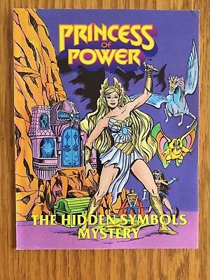 She-Ra Princess Of Power - Hidden Symbols Mystery - Mini Comic