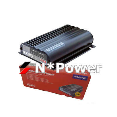 REDARC BCDC1225D In-Vehicle Battery Charger DC To DC With 12/24V Input 25A Solar