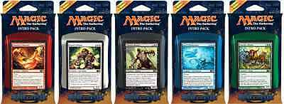 Magic the Gathering MTG 2014 Core Edition (M14) Intro Deck Set of 5 Sealed Decks