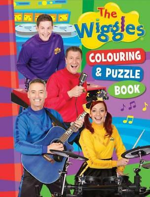 NEW  The Wiggles Colouring & Puzzle Book By The Five Mile Press Paperback