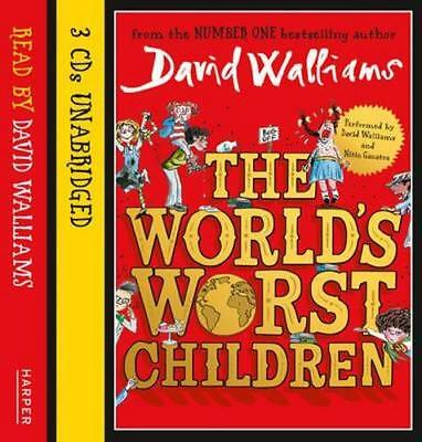 NEW The World's Worst Children By David Walliams Audio CD Free Shipping
