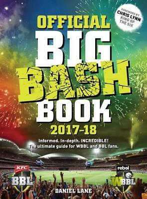 NEW Official Big Bash Book 2017-18 By Daniel Lane Paperback Free Shipping