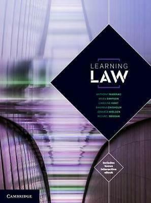 NEW Learning Law By Michael Brogan Book with Other Items Free Shipping